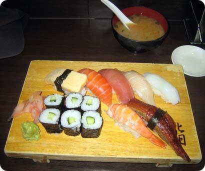 Deluxe sushi from Kura