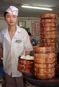 Alotta steamers in China